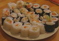 elimination diet Sushi Rolls
