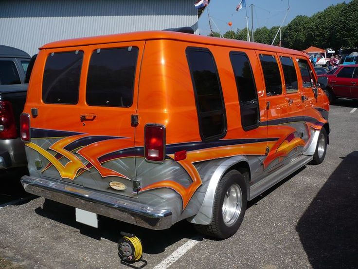 Dodge Conversion Van >> 2003 dodge conversion van 1500 | DODGE B200 Ram Van - vroom vroom | Cool Custom Vans | Pinterest ...