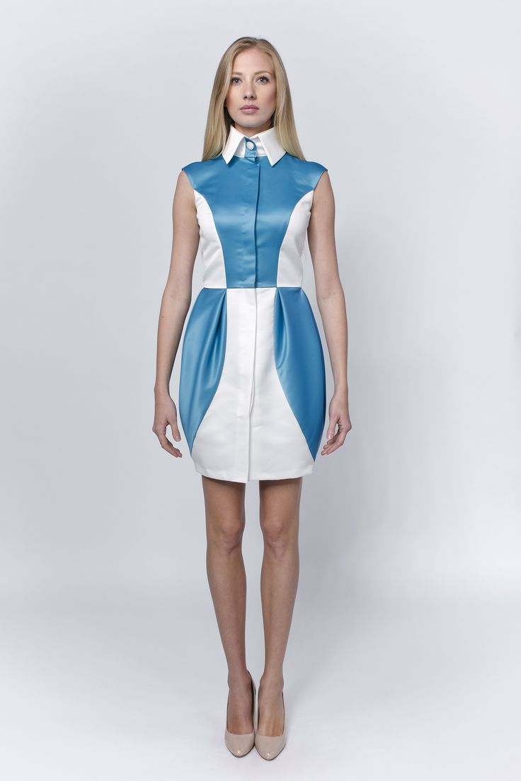 21th century is about rethinking the classics - for example the shirt dress, by adding some trendy colors and a bit of youthful feelings. http://laccafashion.com/collections/dresses/products/linea-l-white-turquoise-tulip-shirt-dress