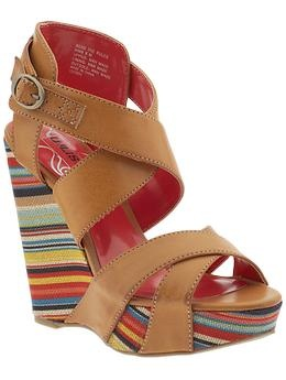Colorful Wedge Shoes