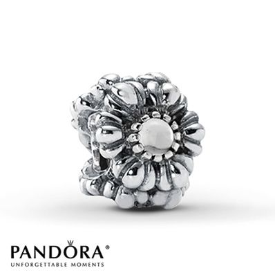 Pandora Bloom April Rock Crystal Charm- given to me by Jeremy and Lindy for Christmas 2013 (my birthday is in April)