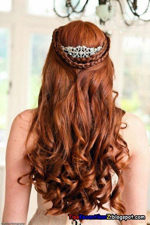 gaya rambut kepang 2014 untuk acara pernikahan