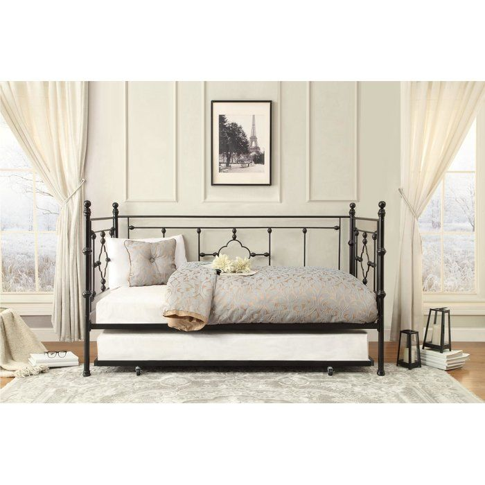 Ilda Twin Daybed With Trundle Birch Lane With Images Daybed