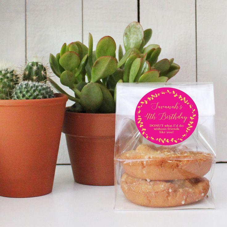 Wedding Favor Donut Bags : Cellophane Bags Donut Birthday Favor Donut Wedding Favor Donut ...