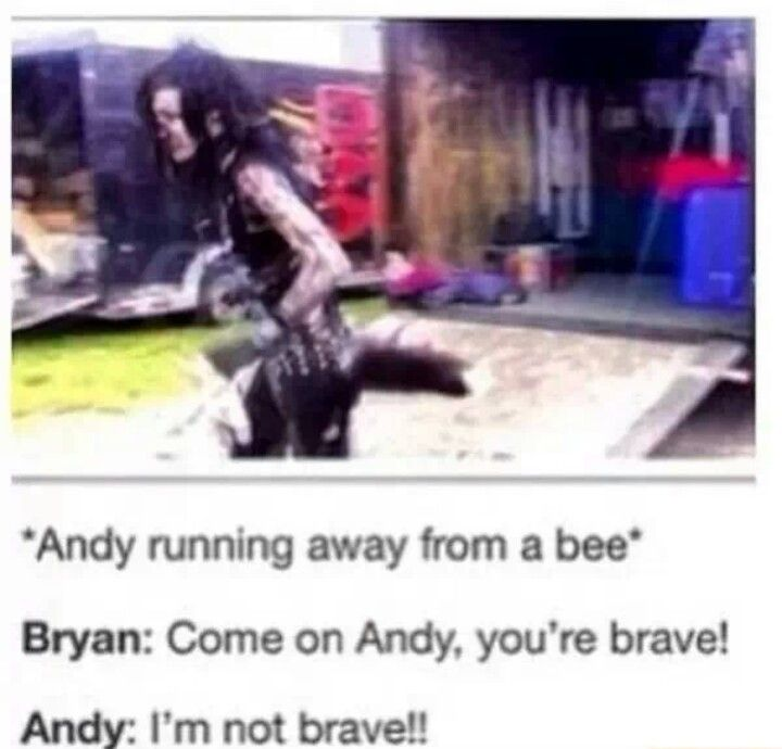 Oh Andy ♥