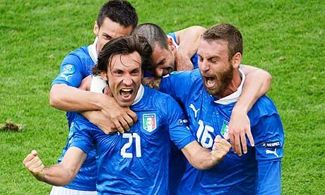 ITALIA  Pirlo is an Italian Legend!