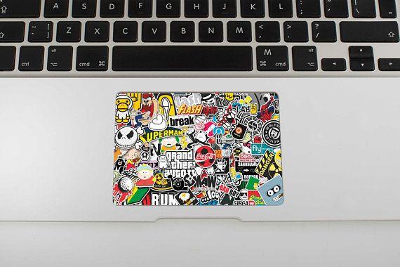 Bombing Skin MacBook Air Sticker Touchpad Stickers MacBook