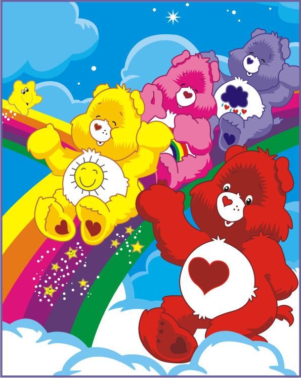 care bears by vonBorowsky on DeviantArt
