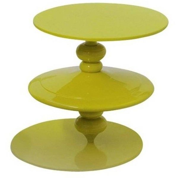 Spinning Yellow Top Coffee Table With Revolving Top Plane By Paolo... (16,325 SAR) ❤ liked on Polyvore featuring home, furniture, tables, accent tables, coffee tables, yellow, aluminum coffee table, swivel table, aluminium furniture and yellow coffee table