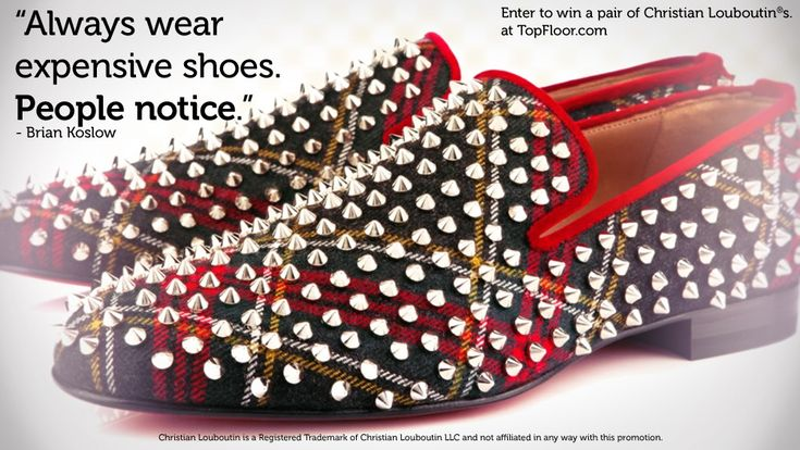 Win a pair of Christian Louboutins http://www.topfloor.com/?lrRef ...