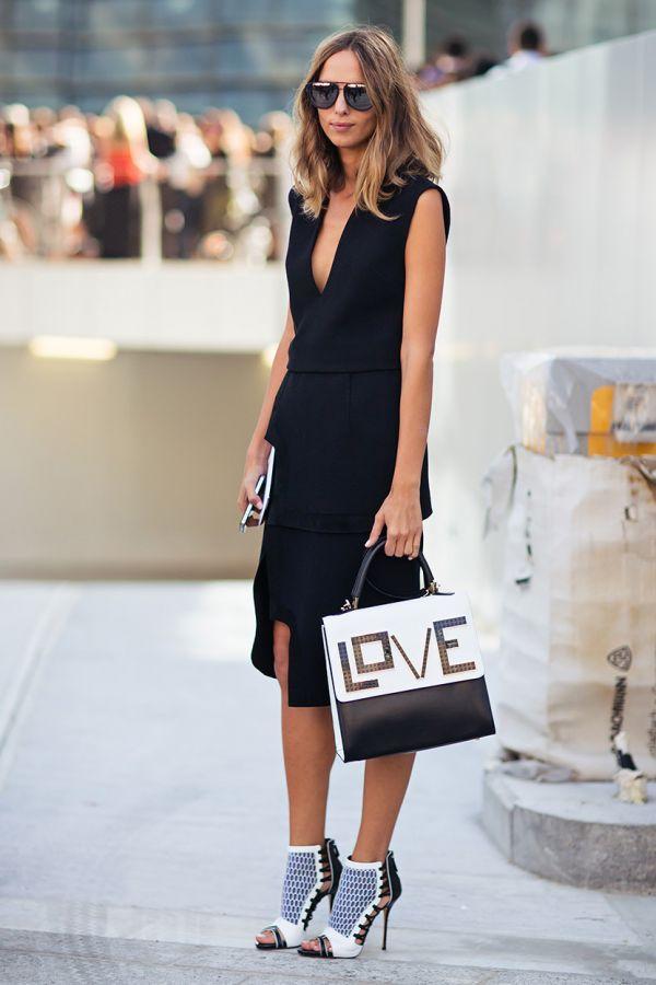 Can you feel the LOVE? That handbag!!!