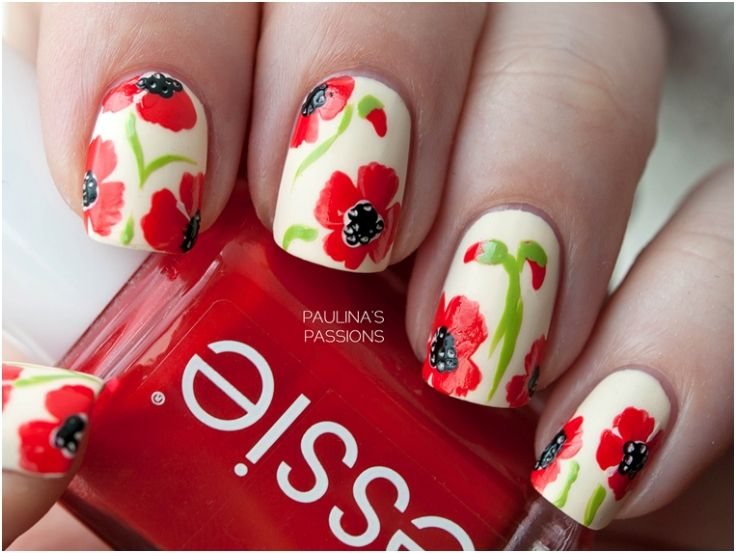 Top 10 Spring Welcoming Floral Nail Art Tutorials
