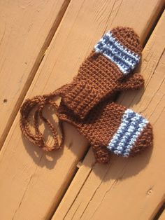 MeganYouHappyCrochet: Crochet toddler mittens-free pattern