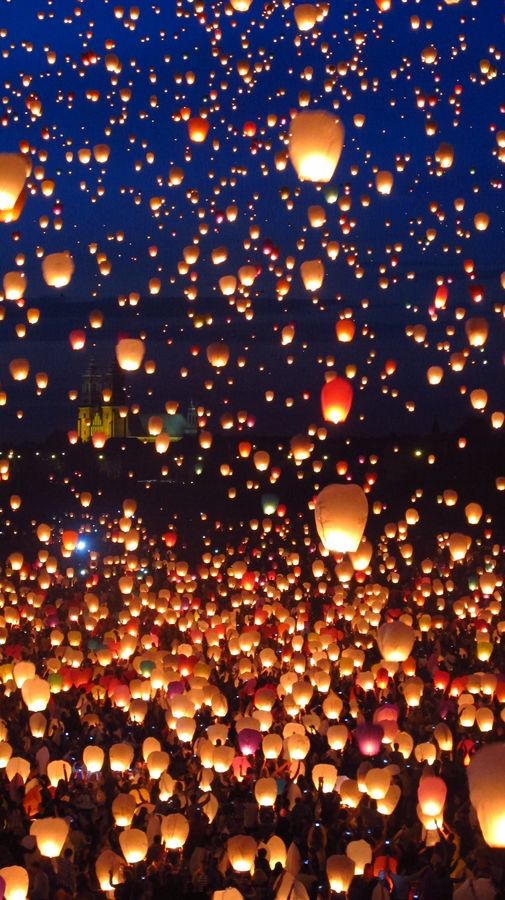 wishing lanterns♥