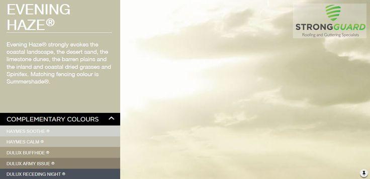 Evening Haze - Strongguard Colorbond Roof & Guttering Colour