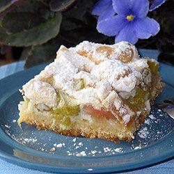 Placek+z+rabarbarem.:+Najwspanialsze+na+świecie+ciasto+z+rabarbarem.<br+/> ...