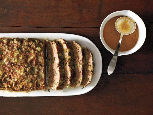 1770 House Meatloaf Recipe : Ina Garten: this was a hit.  Definitely need more garlic sauce than called for.  Made half the meatloaf, would have doubled the sauce.
