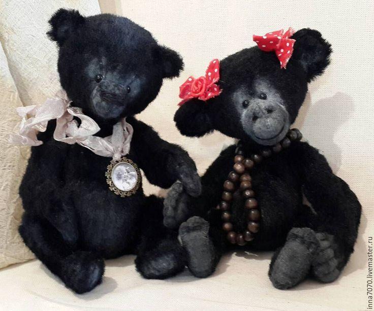 Купить Черныш. Мишка Тедди - черный, тедди, тедди мишка, теддик, тедди в подарок