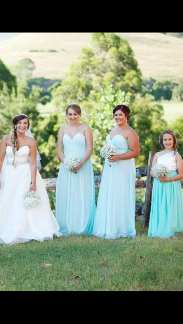 Bridesmaids. Mint.