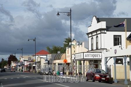 Greytown , New Zealand - great antique shops and bakeries