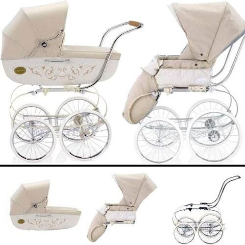 Inglesina SYSTM11VNL Classica Pram and Seat with Raincover - Vanilla Inglesina http://www.amazon.com/dp/B004H63R9Y/ref=cm_sw_r_pi_dp_EvhVub07T16FZ