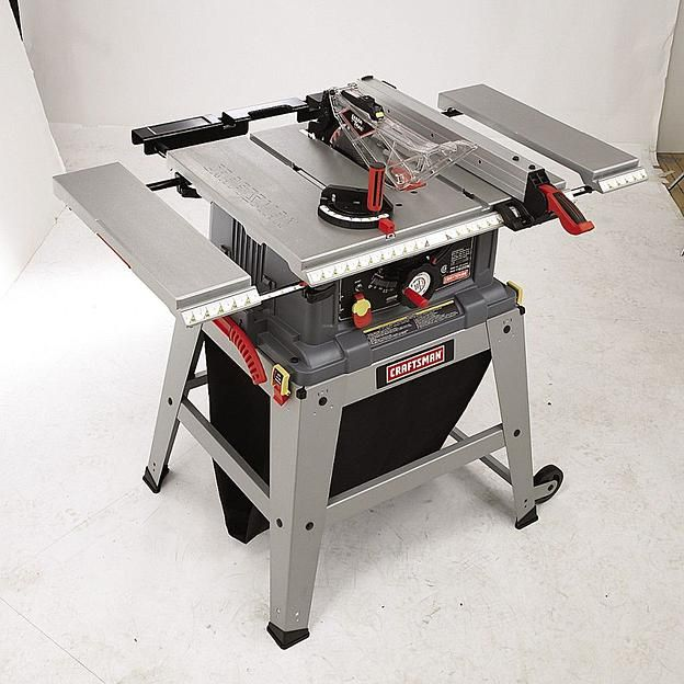 """Craftsman 10"""" Table Saw with Laser Trac® (21807) 4"""