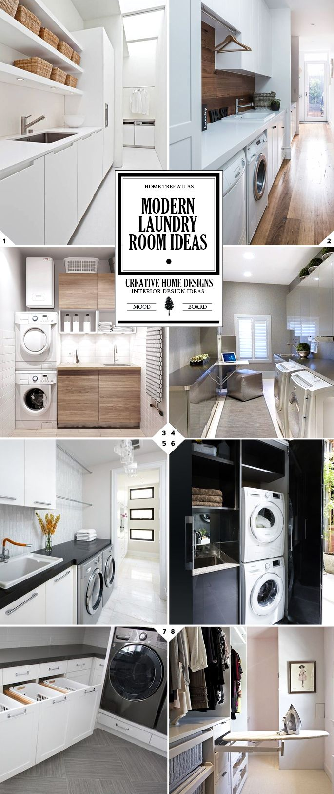 A Modern Laundry Room Is Going To Be A Clean And Fresh Looking Space, Just