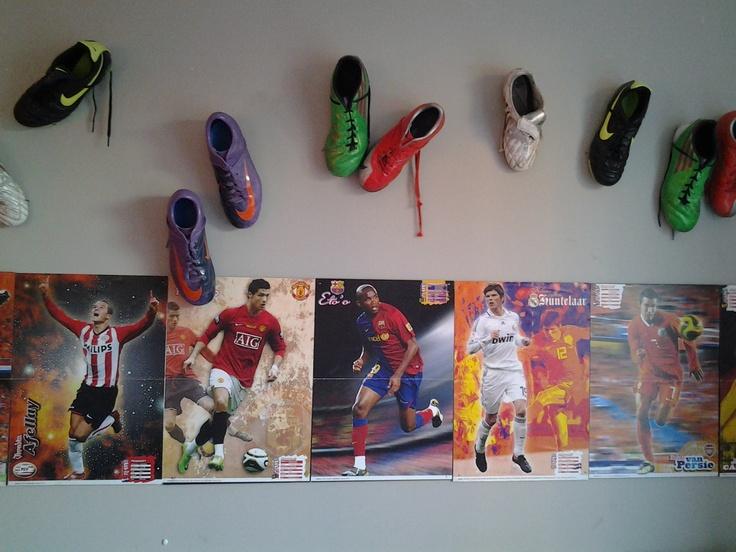 jongenskamer voetbal - Google zoeken