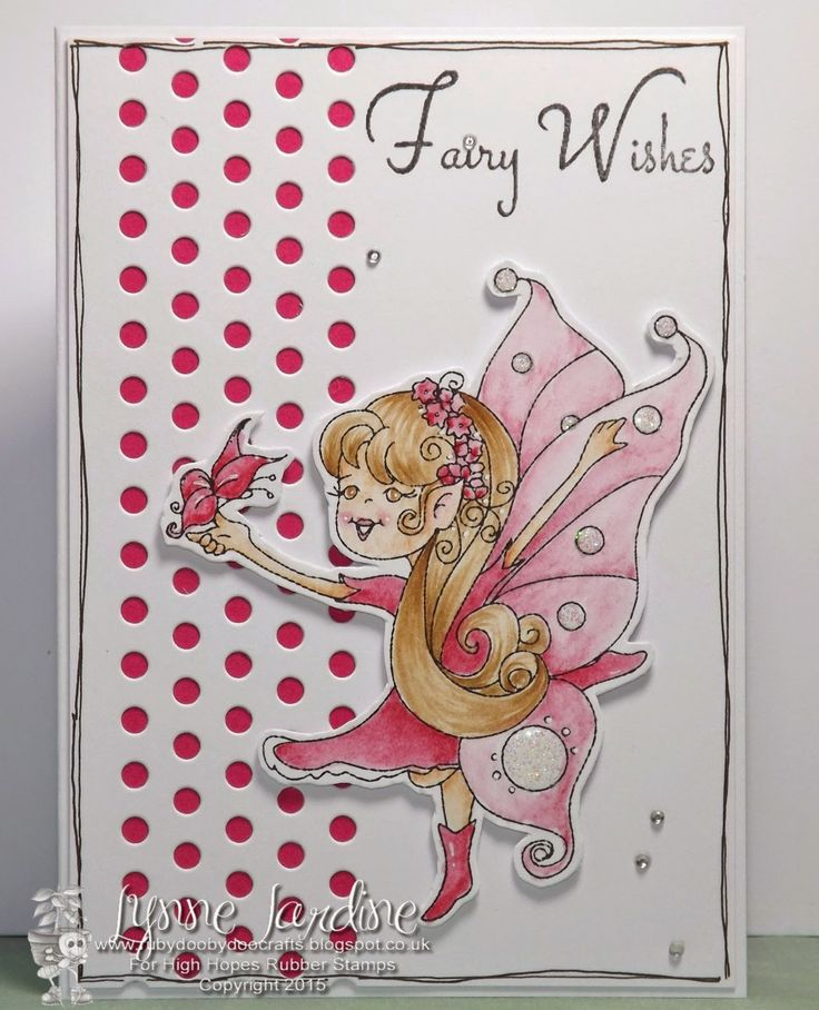 "High Hopes Stamps: ""Fairies & Adventurers"" sneak peek by Lynne coming May 1"
