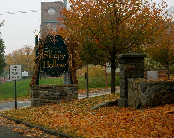 Sleepy Hollow, Tarrytown NY: Washington Irving Slept Here