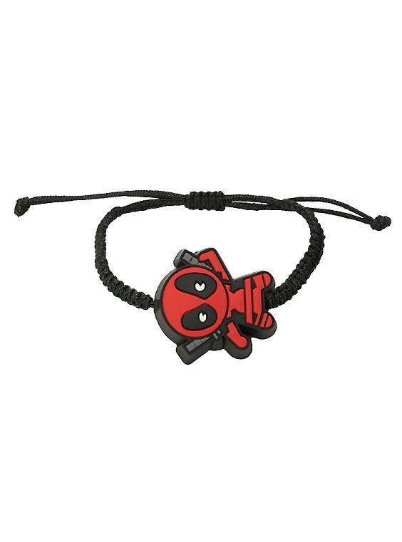 Marvel Deadpool Kawaii Cord Bracelet,