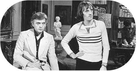 David Hemmings and Dario Argento on the set of Profondo Rosso (1974)