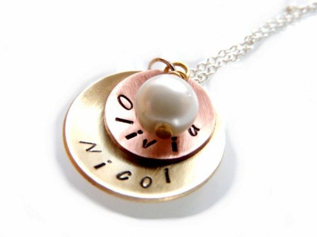 Personalised Necklaces – Necklace – a unique product by artstore on DaWanda