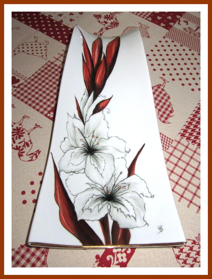 Les 90 meilleures images propos de peinture sur for Decoration sur porcelaine