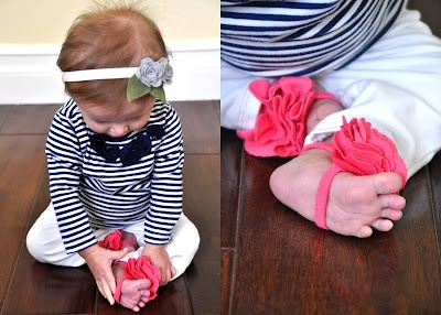 baby pictures & cute baby sandals