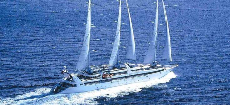 El placer de navegar en un velero de lujo - http://www.absolutcruceros.com/el-placer-de-navegar-en-un-velero-de-lujo/