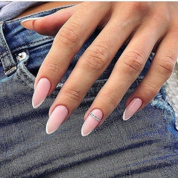 51 Cute French Nail Art Designs Ideas To Wear Now # - #art #Cute #Designs #French #Ideas #Nail #Wear
