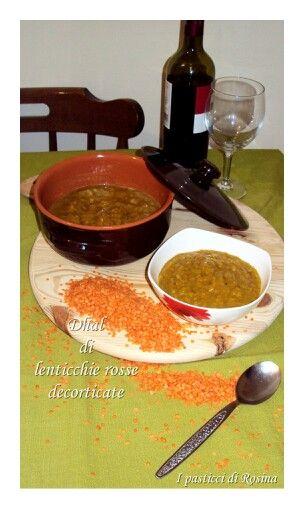 Dhal di lenticchie rosse decorticate