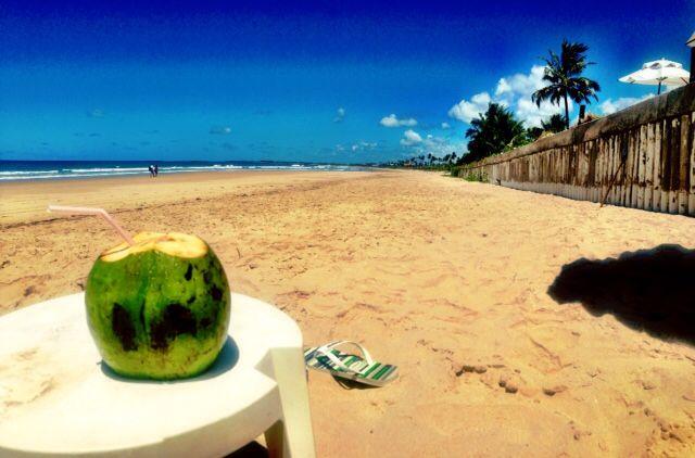 Guardare un mare sconfinato bevendo água de côco...a Porto de Galinhas, il mio angolo di Paradiso in Brasile