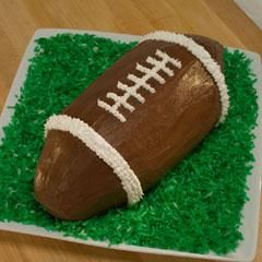 Your NFL kick-off party isn't complete until you have one of these! Football Ice Cream Cake | Breyer's Ice Cream.
