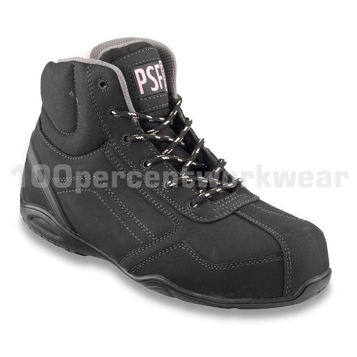 PSF 344NMP Ladies Womens Safety Work Boots Hiking Trainers Shoes Toe Cap Midsole uk.picclick.com