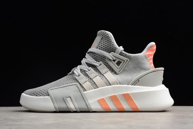 New adidas EQT Back ADV Grey TwoOrange White AC7351