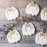 New whisk + wander Mystic Pumpkins featuring Jes Best Royal Icing. Just in time for all of those holiday cookies I see in your future! Happy Thanksgiving!  Link in profile. . #cookies #decoratedcookies #sugarcookies #cookiesofinstagram #marthathanksgiving #whiskwander #foodblogger #tastespotting #foodgawker #resepiz #baking #cookiecutterkingdom #f52grams #buzzfeast #huffposttaste @foodblogfeed #foodblogfeed @feedfeed #thefeedfeed #bareaders