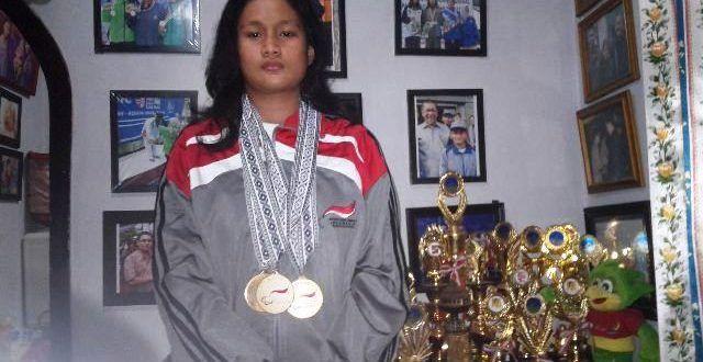 Zalfa, Atlet Paralimpik dari Kota Hujan | Edupost.ID