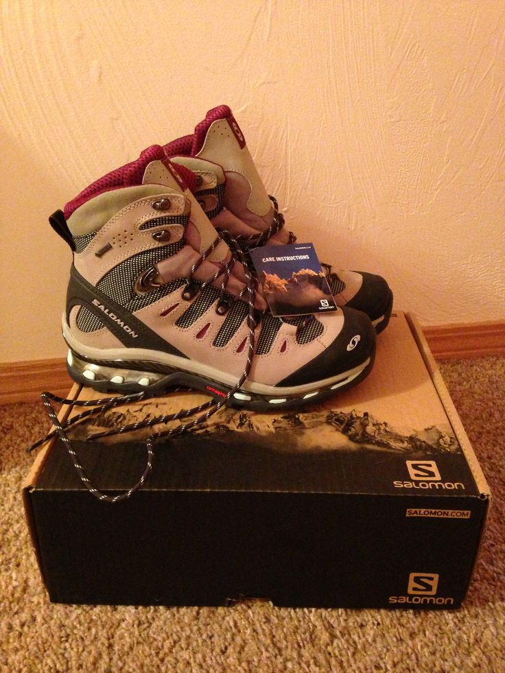 ❤ My New Salomon Hiking Boots For Exploring Montana!!