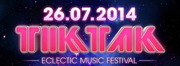 Party report: TIKTAK Electric Music Festival [zaterdag 26 juli] made by me