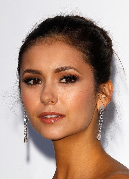 Love her makeup. CAP D'ANTIBES, FRANCE - MAY 24: Actress Nina Dobrev