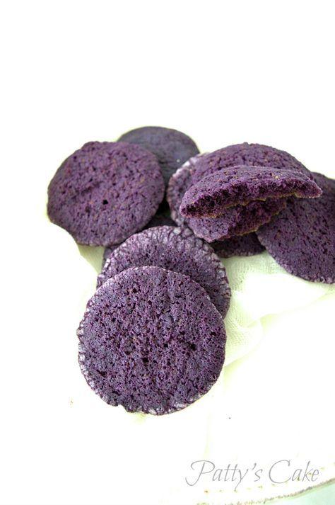 Galletas de violetas con crema de queso - Una galleta un cuento - Febrero - La sirenita