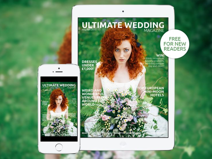 Download the UK's only interactive #wedding magazine for FREE! Available on all iOS and Android devices - http://bit.ly/uwmmayjun2015