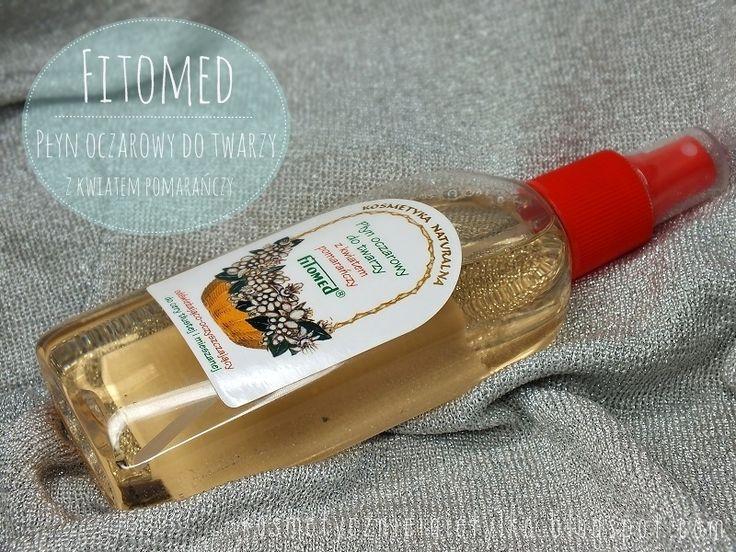 Fitomed: Tonizujący płyn oczarowy o zapachu kwiatu pomarańczy